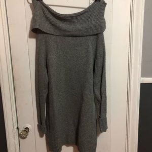 Missimo | Cowl Neck Sweater in Gray
